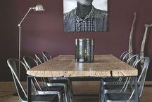Table de salon industriel