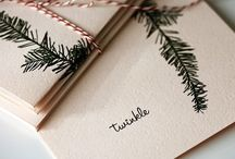 Holiday Cards, Decor, Inspiration