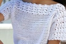 Bluze crosetate