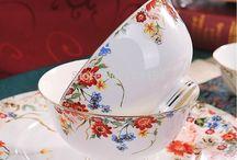 Porcelanove salocky