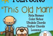 CHILDREN'S SONGS / Songs for Children to sing, learn, perform and enjoy.