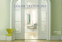 Color Trends for Benjamin Moore Paint / Benjamin Moore has many color trends. these are fun and helpful ways for you to choose colors. GNH can make them for you!