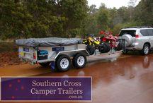 Double Quad Bike camper trailer / This camper trailer can take 2 full sized camper trailers