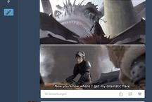 How To Train Your Dragon - Humour