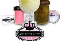 Amy's Candle Club / You can subscribe to receive a triple-scented mason jar candle from Amy's Country Candles in either Amy's Vanilla Sugar Cookie™ or a Surprise Scent every month!