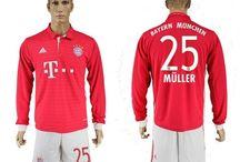 Billige Thomas Muller trøje / Køb Thomas Muller trøje 2016/17,Billige Thomas Muller fodboldtrøjer,Thomas Muller hjemmebanetrøje/udebanetrøje/3. trøje udsalg med navn.