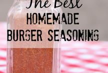Seasonings / by Bobbi Love