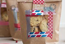 kekse in tüten verpacken