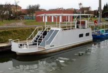Ships from our fleet / Lodní park přístavu Strážnice