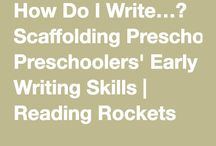 Writing Development / Supporting writing for youngest learners