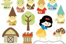 Art & Doodles - Disney - Snow White