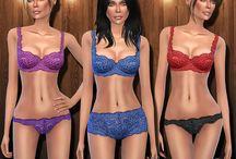 Lingerie - Sims 4