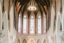 St. Peters Cathedral Basilica Weddings by Rachel A. Clingen