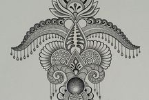 henna and other designs