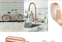 Metallics - Rose Gold / Rose Gold - a soft delicate shade of gold that adds warmth to any room.