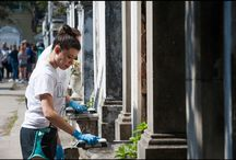 Community Service / Tulane students making a different in the Greater New Orleans area!