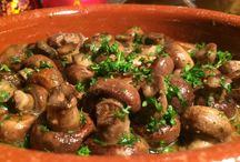 eten / champignons in oven