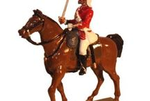 The Black Watch Regiment / Latest; 42nd Highland Regiment - The Black Watch Colour Party Painted in Gloss see:http://traditionoflondonshop.com/Toy_Soldiers_54mm/The_Indian_Mutiny_of_1857 / by Tradition of London
