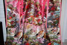 Kimonos, fans, umbrellas