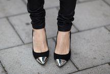silver barettes