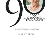 Sally 90 birthday.