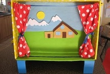 Kindergarten Centers: Storytelling / This board includes ideas, activities, and resources for a kindergarten classroom storytelling center.