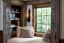 rustic interiér