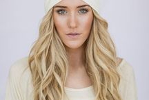 Hair and head Accesories - Head bands; Hats, Hair Accesories / Everything beautiful to take away from my thinning hair and to make me feel pretty