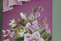 Malířství, obrazy, mosaika / Obrázky, postupy malování, mozaika