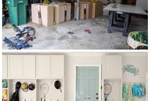 Garage/Mudroom / by Lexie Stokes