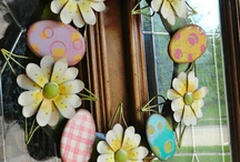 seasonal crafts and decor - spring