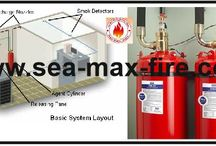 Clean Agent Fire Extinguisher / The range of clean agent fire extinguishers which we deliver is also known asHFC Blend A. It is a blend of Hydro Fluoro carbon & organic detossificant essence FE36. These devices store liquids which turn to gas in contact with fires and fight against fires by cooling and smothering it. These Clean agent extinguishers are effective on Class A, B, and C fires without making thermal shock to delicate electronic equipment. These extinguishers are EPA approved