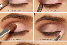 Make-up for brown/hazel eyes