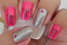 Nail art / Nail, art, cute, beauty