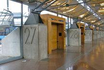 bus terminal signage