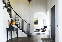 DETAILS |  WHAT GOES UP, MUST COME DOWN / Creative and well decorated stairways.