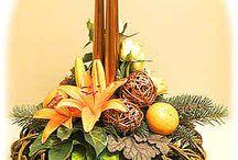 Christmas Flower Arrangement Ideas / Festive floral arrangements for the holidays
