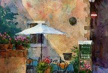 aquarellen / schilderen