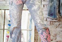 jeans paint