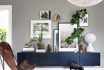 INTERIORS: Navy is the new Black / Trend piece from The Clementine.