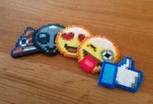 Emoji pärlplattor