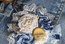 джинсовые украшения
