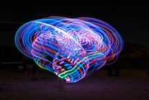Light Show / Great images of LED and fire hoops!