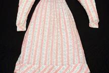 Project: 1820s Stripe Dress