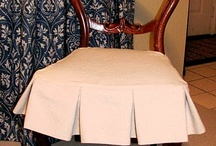 Dressmaker details for upholstery/slipcovers