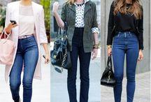 Moda para altas e magras