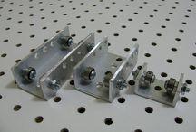 Alu Extrusion, Linear Bearings, CNC