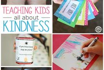 activities that comes from the heart / We all could use a little kindness in our lives.  This is how we teach our kids about it