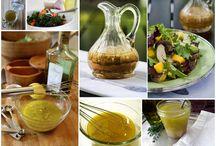 Соусы для салатов. Заправки