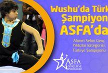 Wushu'da Türkiye Şampiyonu Asfa'dan / Wushu'da Türkiye Şampiyonu Asfa'dan